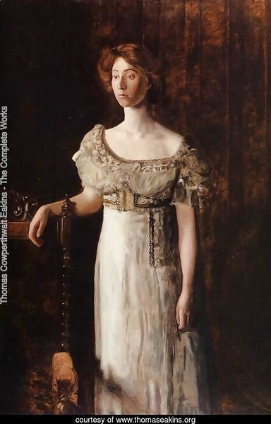 The Old Fashioned Dress-Portrait of Miss Helen Parker