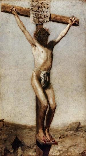 Thomas Cowperthwait Eakins - The Crucifixion