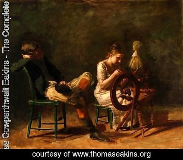 Thomas Cowperthwait Eakins - The Courtship