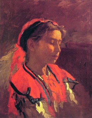 Thomas Cowperthwait Eakins - Carmelita Requena