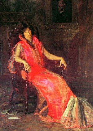 Thomas Cowperthwait Eakins - The Actress