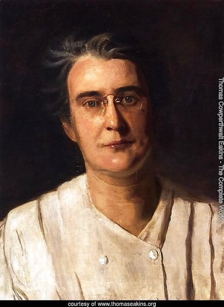 Portrait of Lucy Langdon Williams Wilson