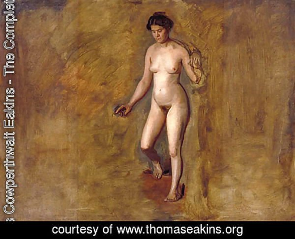 Thomas Cowperthwait Eakins - William Rush's Model