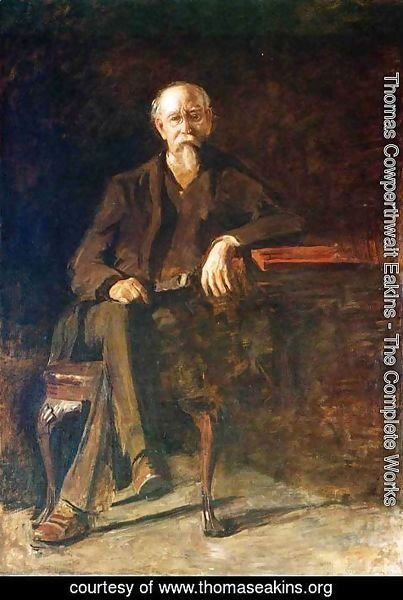 Thomas Cowperthwait Eakins - Portrait of Dr. William Thompson