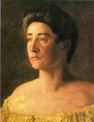 Thomas Cowperthwait Eakins - A Singer: Portrait of Mrs. Leigo