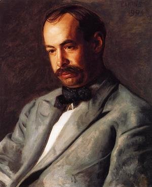 Thomas Cowperthwait Eakins - Portrait of Charles Percival Buck