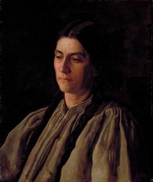 Thomas Cowperthwait Eakins - Mother (or Annie Williams Gandy)