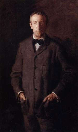 Thomas Cowperthwait Eakins - Portrait of William B. Kurtz