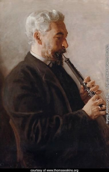 The Oboe Player (or Portrait of Benjamin Sharp)
