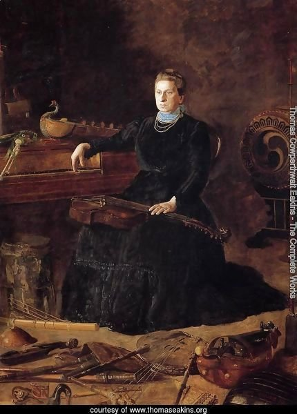 Antiquated Music (or Portrait of Sarah Sagehorn Frishmuth)
