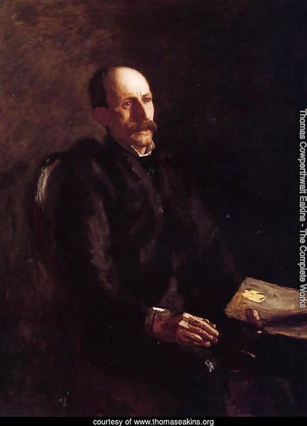 Portrait of Charles Linford, the Artist