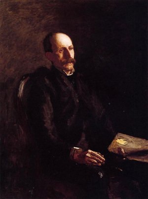 Thomas Cowperthwait Eakins - Portrait of Charles Linford, the Artist