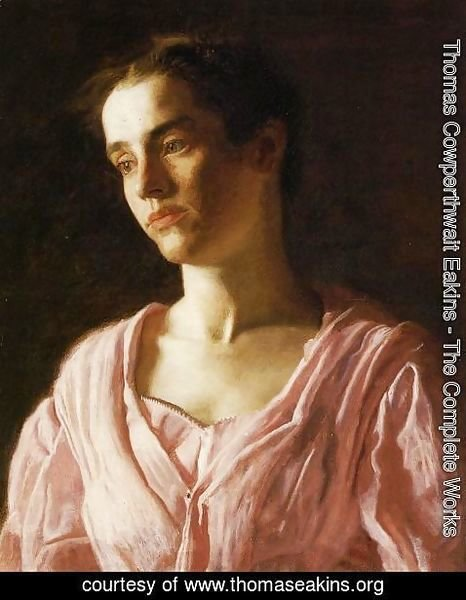 Thomas Cowperthwait Eakins - Portrait of Maud Cook