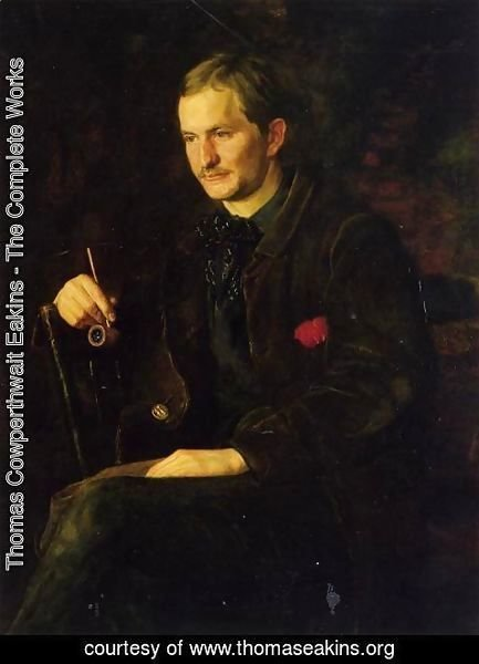 Thomas Cowperthwait Eakins - The Art Student (or Portrait of James Wright)