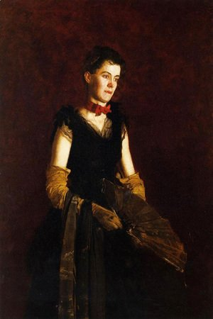 Thomas Cowperthwait Eakins - Portrait of Letitia Wilson Jordan