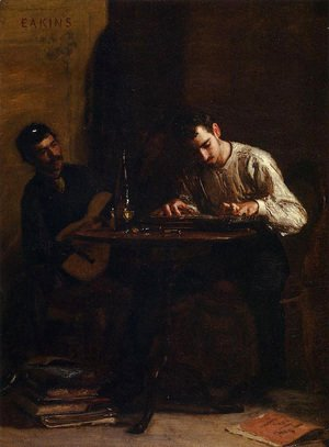 Thomas Cowperthwait Eakins - Professionals at Rehearsal
