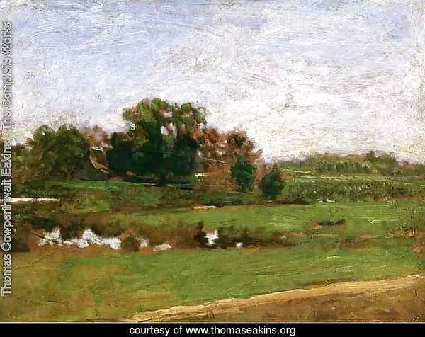 "Study for ""The Meadows, Gloucester, New Jersey"""