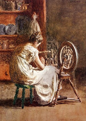 Thomas Cowperthwait Eakins - Homespun