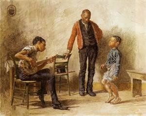 Thomas Cowperthwait Eakins - The Dancing Lesson