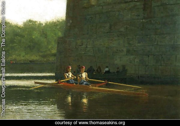 The Oarsmen (or The Schreiber Brothers)