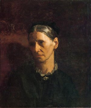 Thomas Cowperthwait Eakins - Portrait of Mrs. James W. Crowell