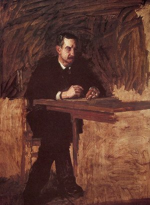Thomas Cowperthwait Eakins - Portrait of Professor William D. Marks
