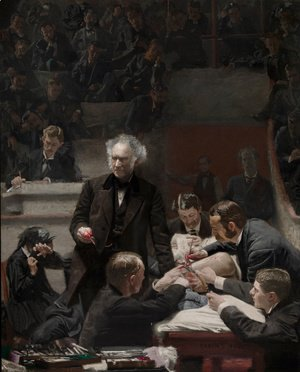 Thomas Cowperthwait Eakins - The Gross Clinic, 1875