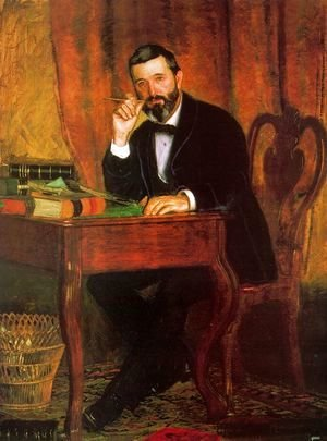 Thomas Cowperthwait Eakins - Dr. Horatio C. Wood, 1886
