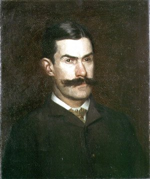 Portrait of Frank MacDowell, c.1886