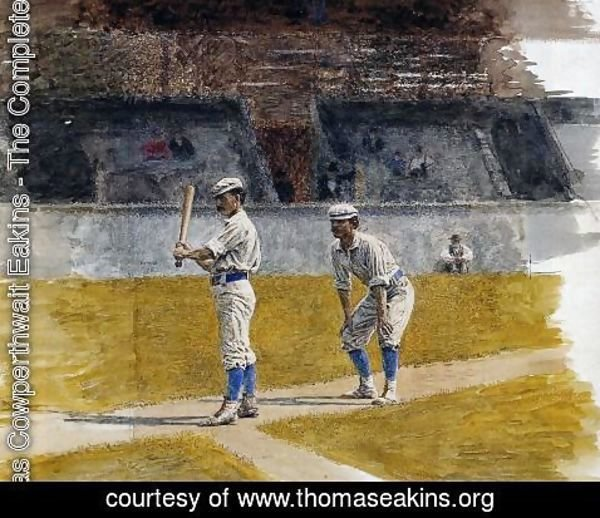 Thomas Cowperthwait Eakins - Baseball Players Practicing