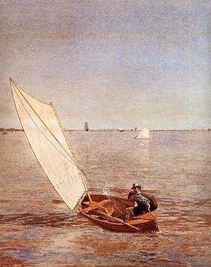 Thomas Cowperthwait Eakins - Starting Out after Rail 2