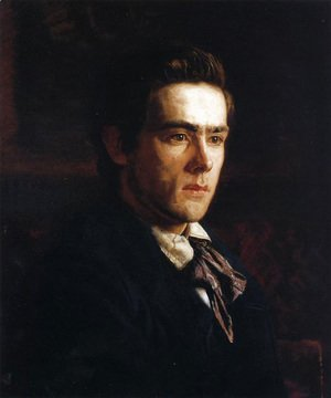 Thomas Cowperthwait Eakins - Portrait of Samuel Murray