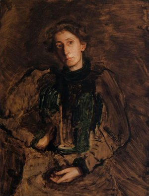 Thomas Cowperthwait Eakins - Portrait of Jennie Dean Kershaw