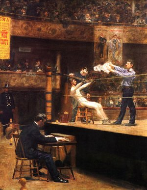 Thomas Cowperthwait Eakins - Between Rounds
