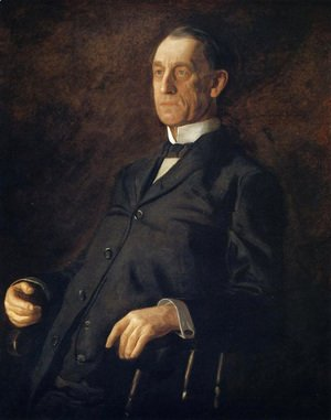 Thomas Cowperthwait Eakins - Portrait of Asburyh W. Lee