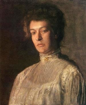 Thomas Cowperthwait Eakins - Portrait of Mrs. Kern Dodge (Helen Peterson Greene)
