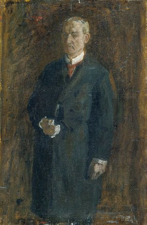 Thomas Cowperthwait Eakins - James MacAlister (Sketch) 1895