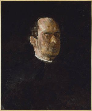Thomas Cowperthwait Eakins - Portrait of Dr. Edward Anthony Spitzka
