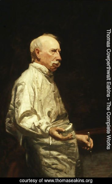 Thomas Cowperthwait Eakins - Study of Dr. Agnew for the Agnew Clinic