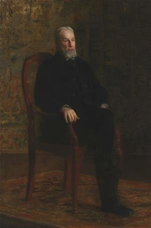 Thomas Cowperthwait Eakins - Portrait of Robert C. Ogden