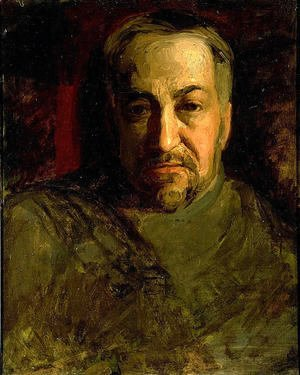 Thomas Cowperthwait Eakins - Self-portrait