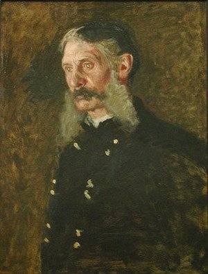 Thomas Cowperthwait Eakins - Portrait of General E. Burd Grubb