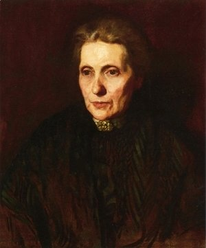 Thomas Cowperthwait Eakins - Portrait of a Woman