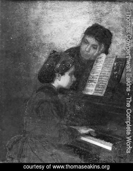 Thomas Cowperthwait Eakins - At the Piano