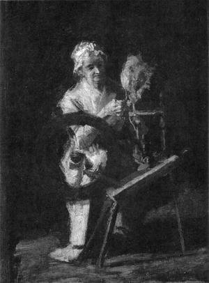 Thomas Cowperthwait Eakins - Sketch for In Grandmother's Time