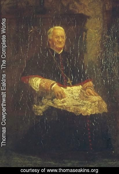 Thomas Cowperthwait Eakins - Archbishop James Frederick Wood