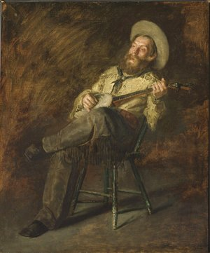 Thomas Cowperthwait Eakins - Cowboy Singing 2