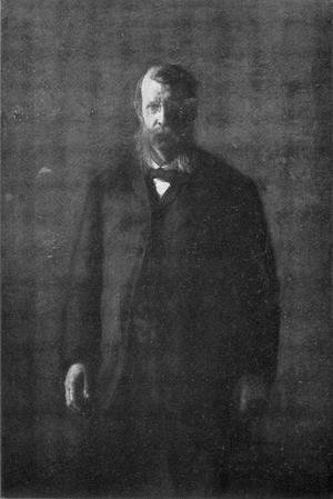 Thomas Cowperthwait Eakins - Portrait of George F. Barker