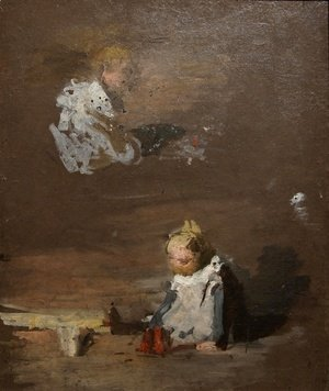 Thomas Cowperthwait Eakins - Studies of a Baby