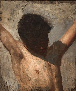 Thomas Cowperthwait Eakins - Sketch for the Crucifixion